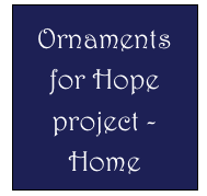 Ornaments for Hope project - 